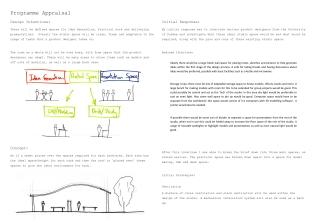 Design intentions